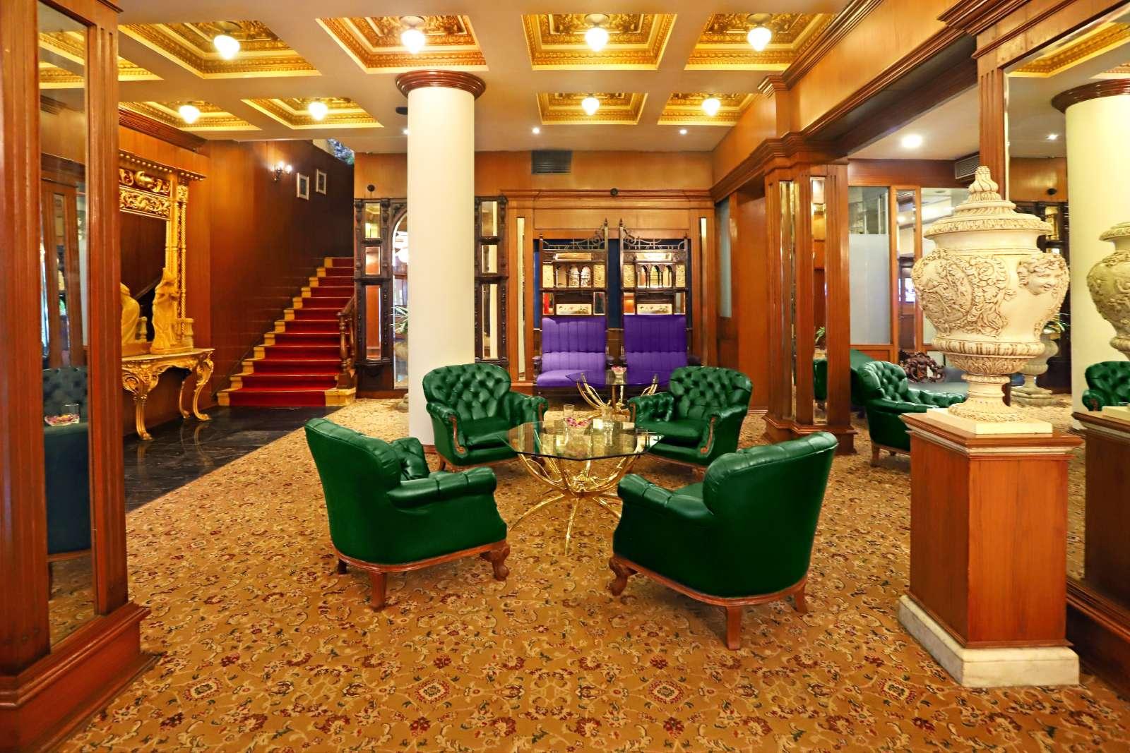 4 Reception - The Ambassador | Heritage Hotels in Mumbai, Aurangabad, Chennai - GDS Codes