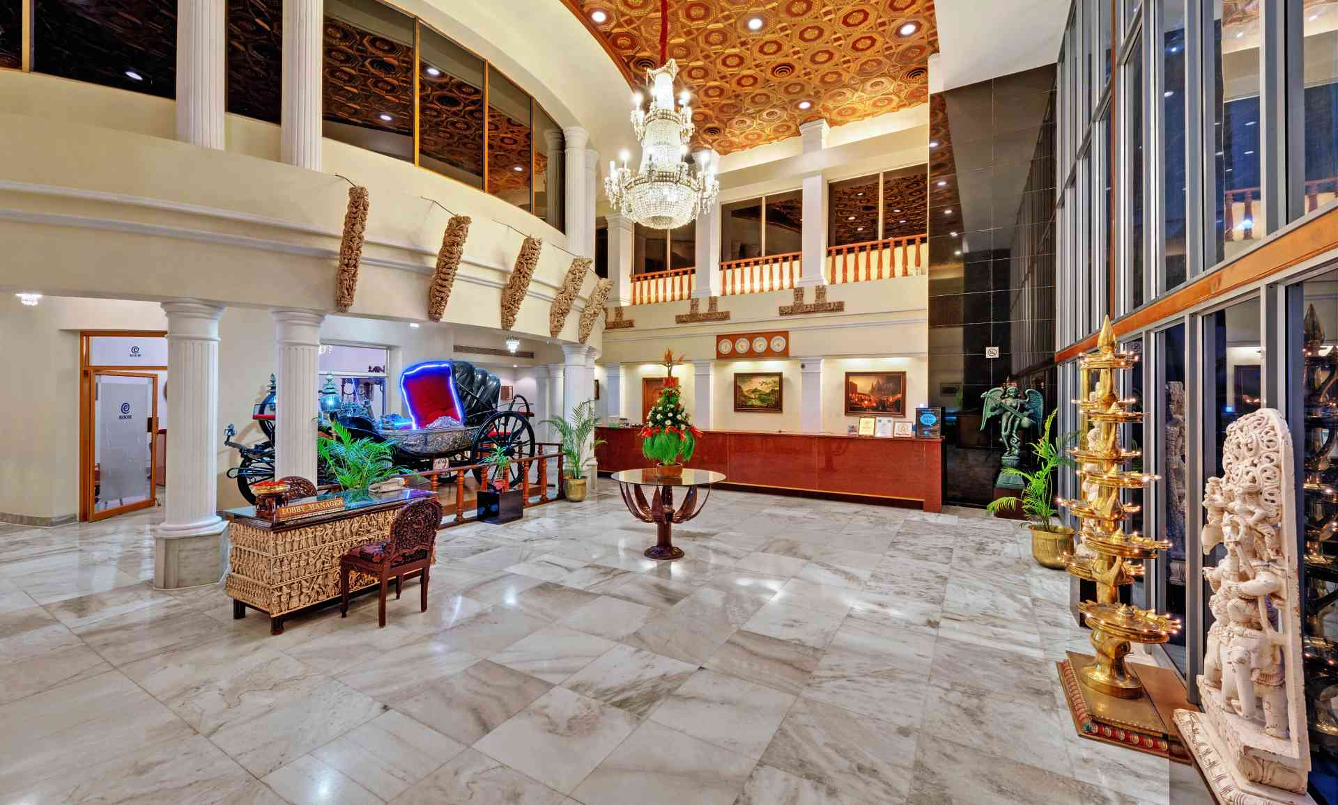 Chennai Lobby Ambassador Pallava - The Ambassador | Heritage Hotels in Mumbai, Aurangabad, Chennai - Long Stay Offer