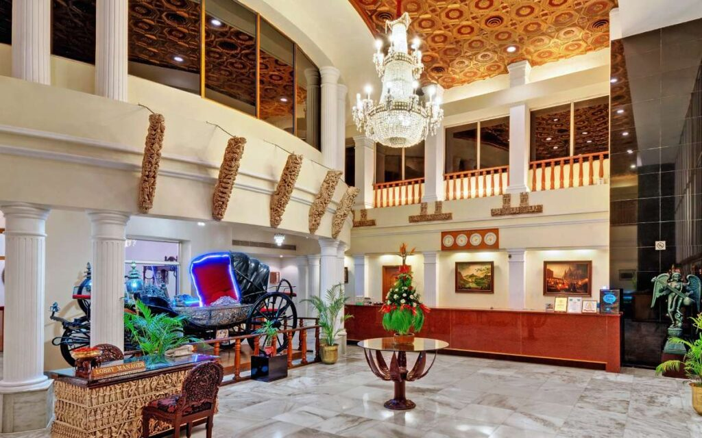 chennai ambassador pallava lobby - The Ambassador   Heritage Hotels in Mumbai, Aurangabad, Chennai - Contact Hotel
