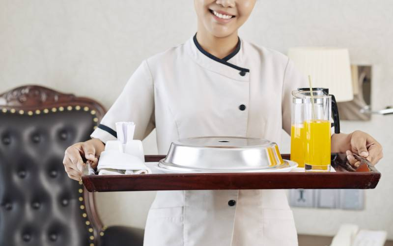 room service - The Ambassador | Heritage Hotels in Mumbai, Aurangabad, Chennai - Facilities