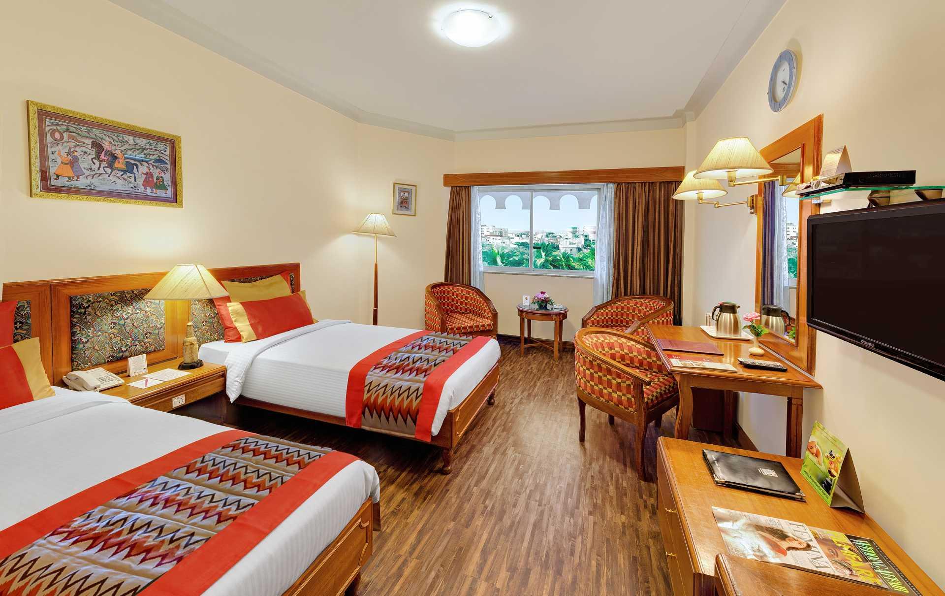 Deluxe Room Ambassador Ajanta Aurangabad banner 3 - The Ambassador | Heritage Hotels in Mumbai, Aurangabad, Chennai - Our Rooms
