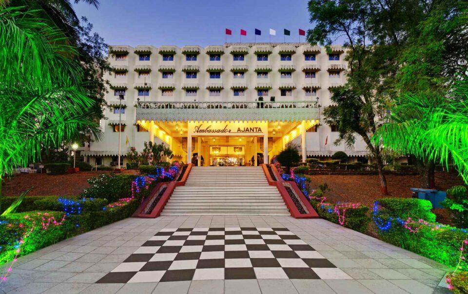 Exterior Aurangabad banner ambassador ajanta 1 - The Ambassador | Heritage Hotels in Mumbai, Aurangabad, Chennai - Newsroom