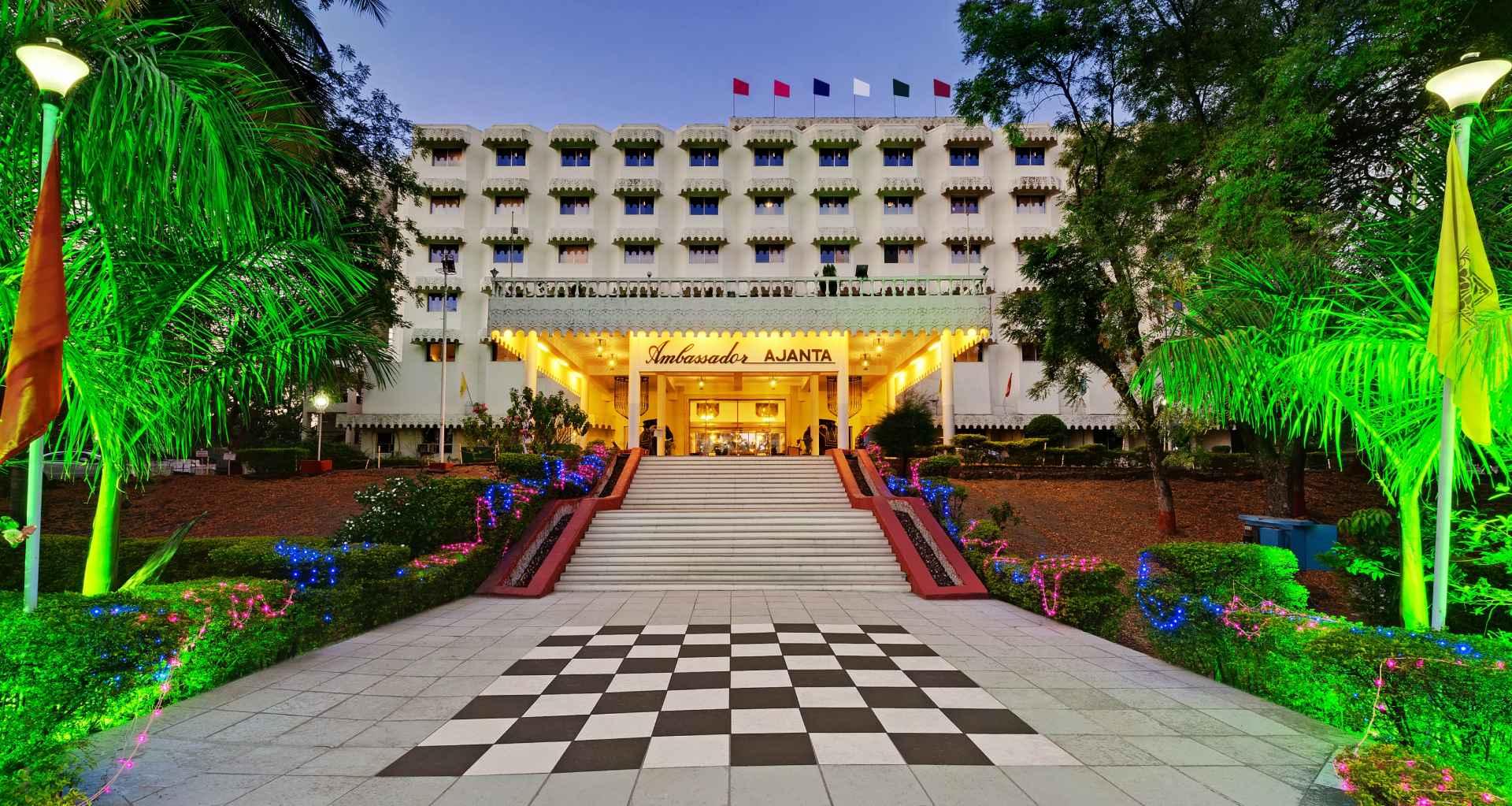 Exterior Aurangabad banner ambassador ajanta 1 - The Ambassador | Heritage Hotels in Mumbai, Aurangabad, Chennai - Gallery