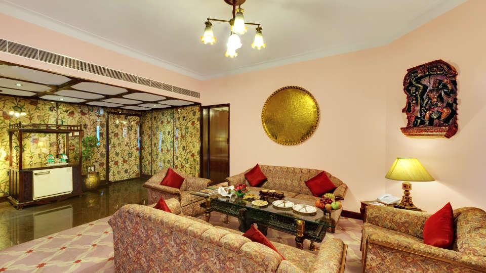 Presidential Suite at Ambassador Ajanta Aurangabad 2 - The Ambassador | Heritage Hotels in Mumbai, Aurangabad, Chennai - Our Rooms