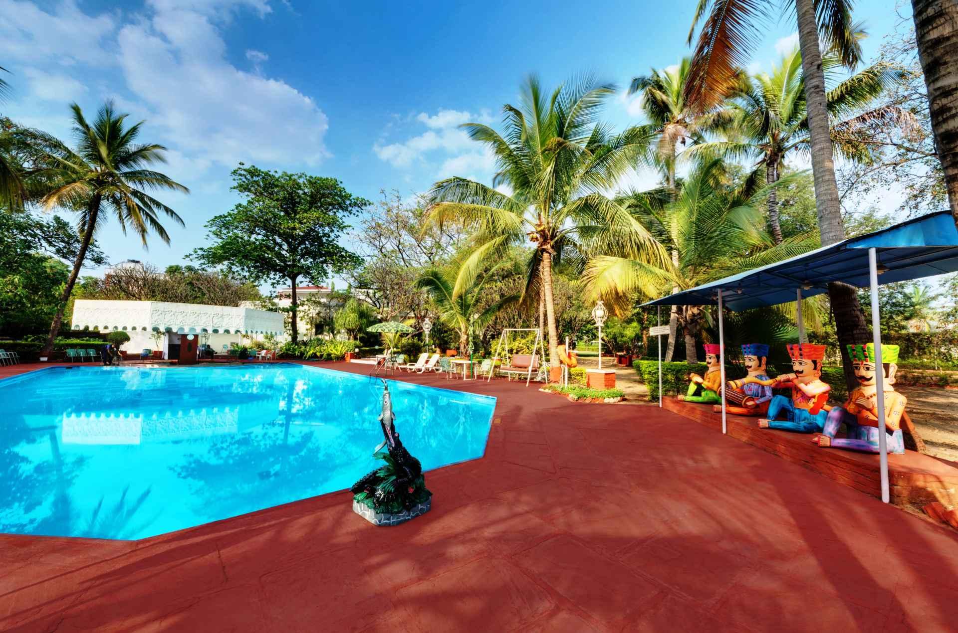 Swimming Pool ambassador ajanta aurangabad 1 - The Ambassador | Heritage Hotels in Mumbai, Aurangabad, Chennai - Ambassador Hotels