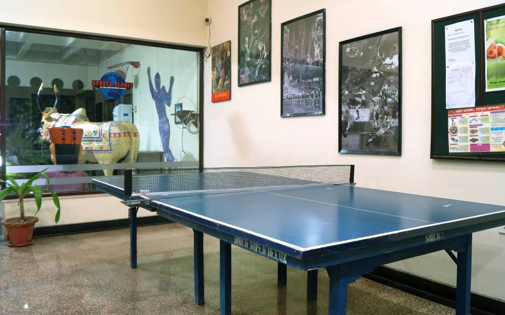 Table Tennis facility ambassador ajanta aurangabad - The Ambassador | Heritage Hotels in Mumbai, Aurangabad, Chennai - Facilities