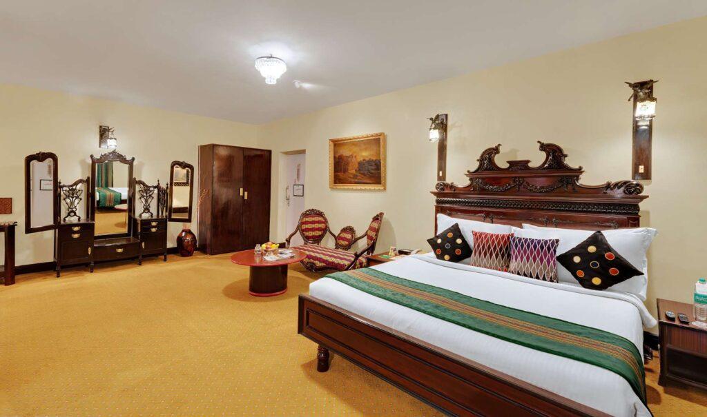 chennai Heritage Room ambassador pallava bed 2 - The Ambassador | Heritage Hotels in Mumbai, Aurangabad, Chennai - Heritage Room