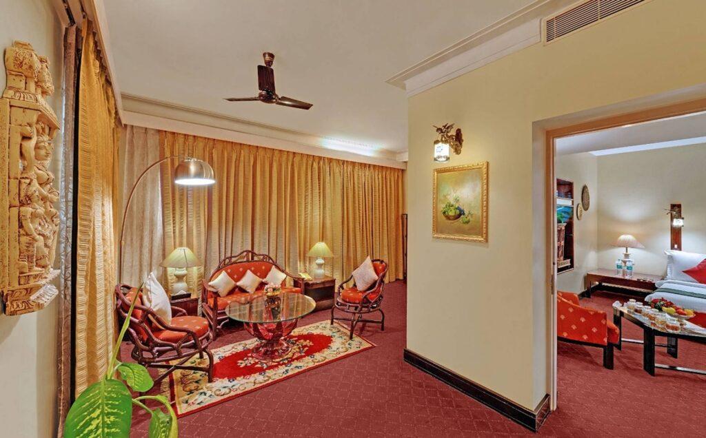 chennai pallava suite ambassador pallava reception area - The Ambassador | Heritage Hotels in Mumbai, Aurangabad, Chennai - Pallava Suite