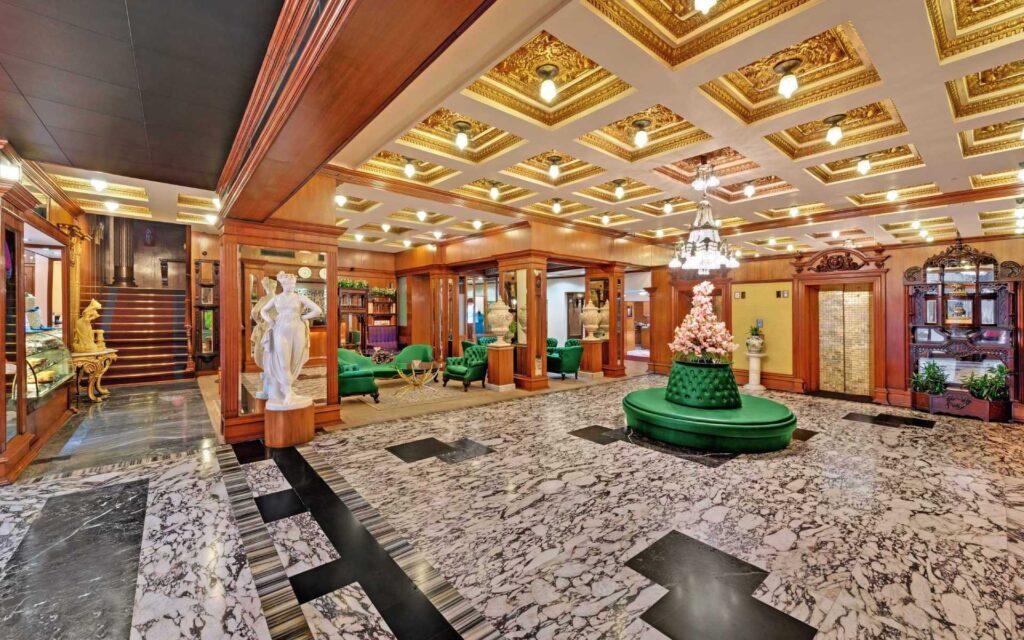 the ambassador banner 1 lobby 1 - The Ambassador | Heritage Hotels in Mumbai, Aurangabad, Chennai - Long Stay Offer