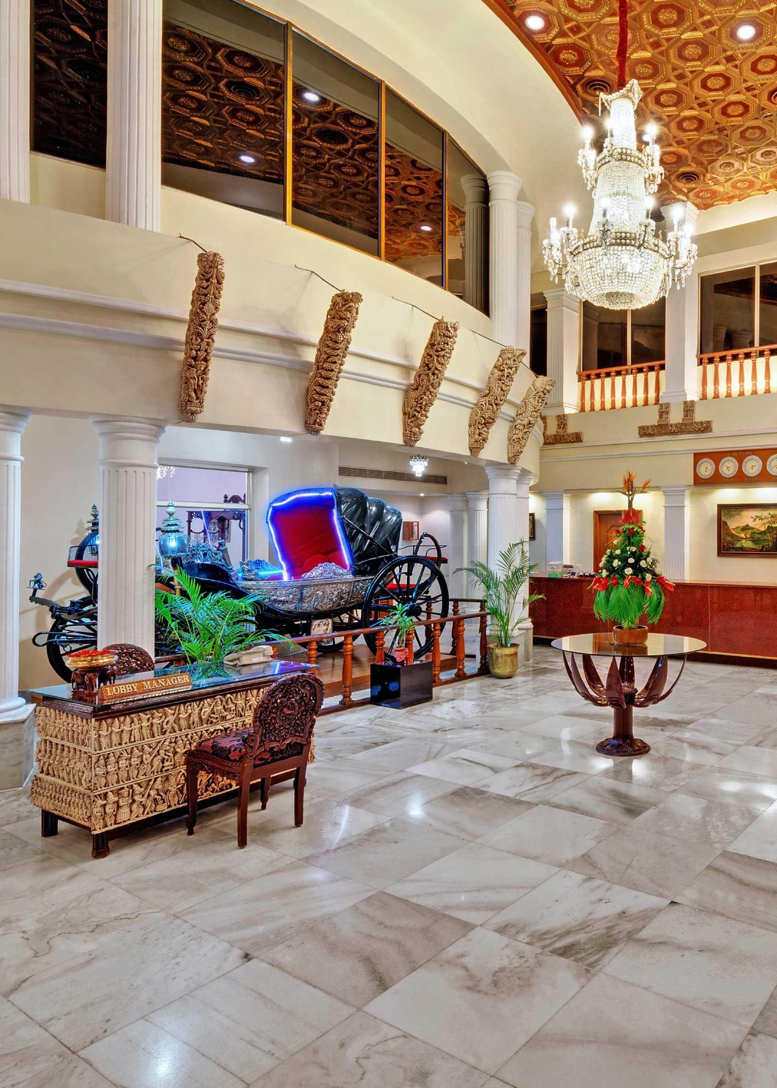 Lobby ambassador pallava chennai 2 - The Ambassador | Heritage Hotels in Mumbai, Aurangabad, Chennai - Ambassador Pallava Chennai