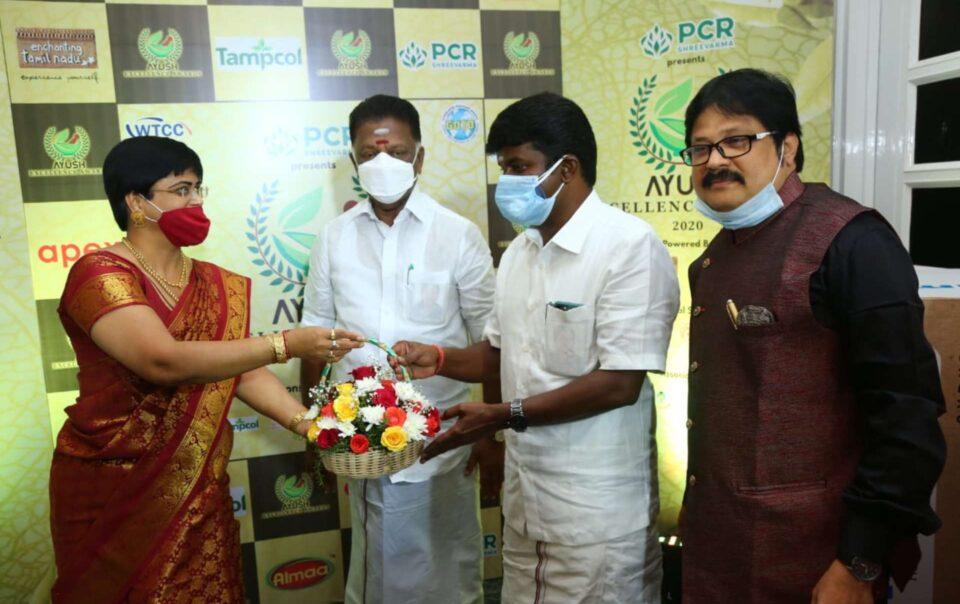Ayush Excellence Awards 2020 at Ambassador Pallava Chennai picture - The Ambassador | Heritage Hotels in Mumbai, Aurangabad, Chennai - Newsroom